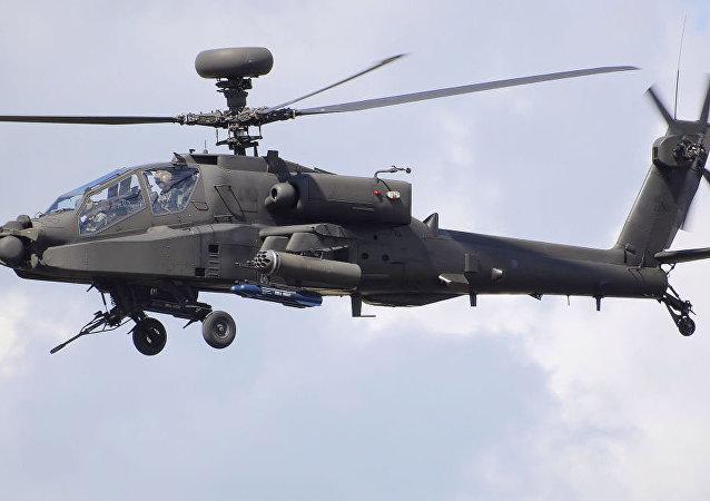美国一架军用直升机/资料图片/