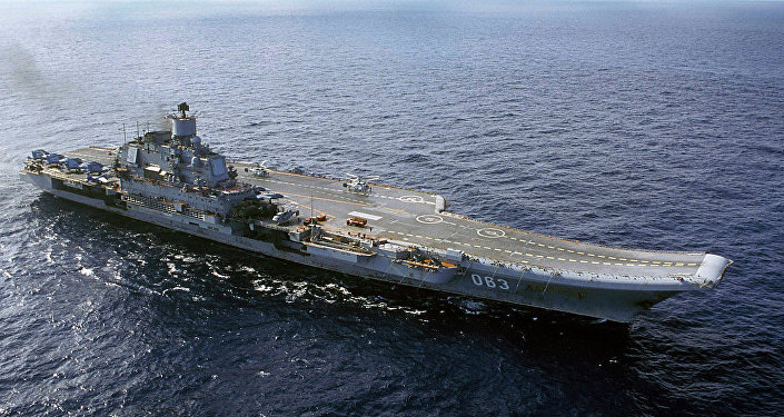 俄羅斯 「庫茲涅佐夫上將」號航母
