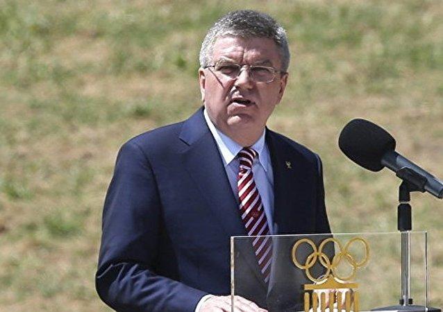国际奥林匹克委员会主席巴赫