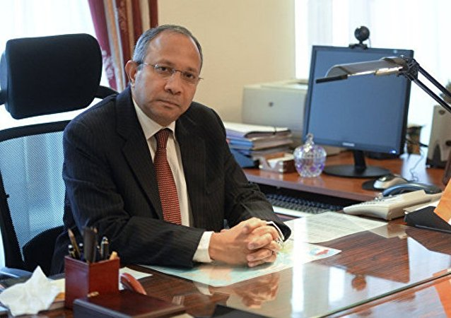 印驻俄大使:印度对俄在亚太地区的立场表示欢迎