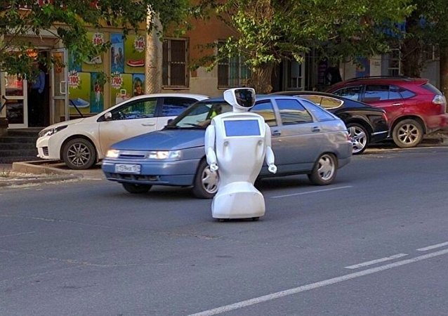 机器人从在彼尔姆的试验场逃脱