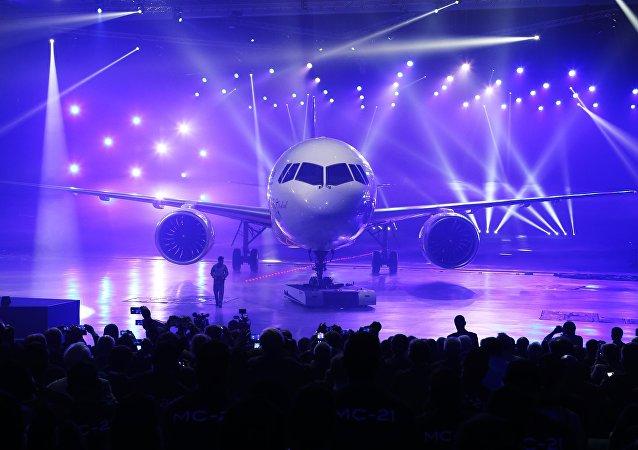俄联合航空制造集团总裁:集团今年不太可能在华展出MS-21客机