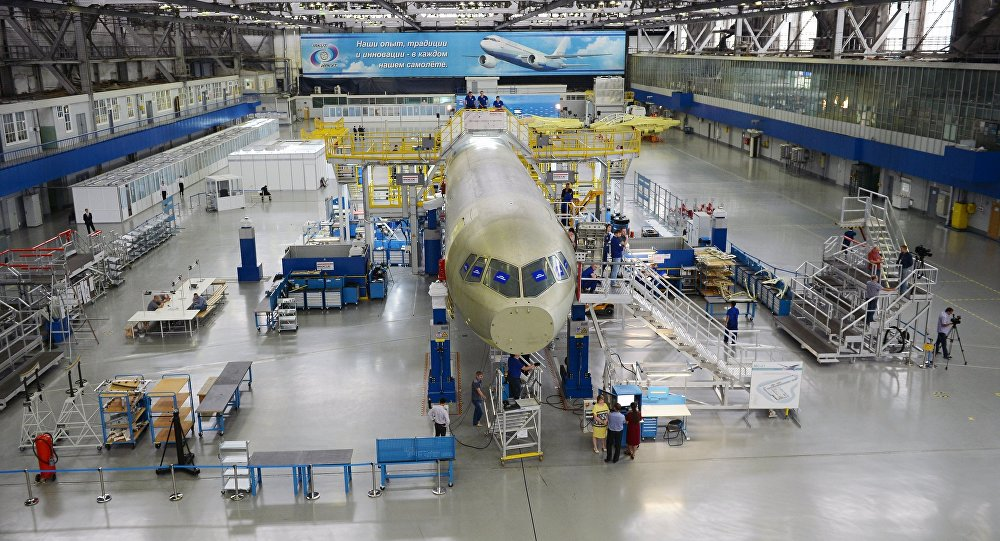 俄联合航空制造集团:МС-21客机项目将使用国产复合材料机翼