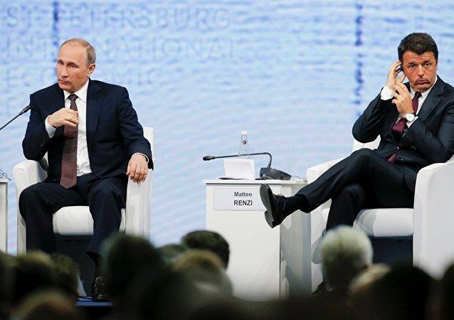 普京:俄罗斯与意大利有共同意愿克服双边关系中的困难