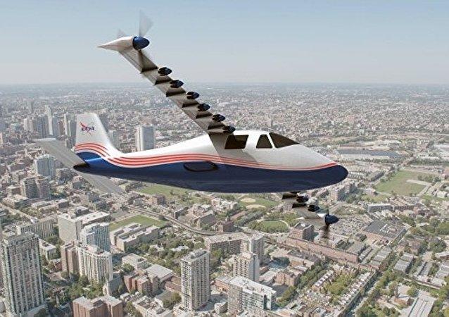 NASA展示首架全电动飞机原型机