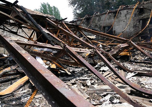 乌克兰副总理称顿巴斯重建需150亿美元