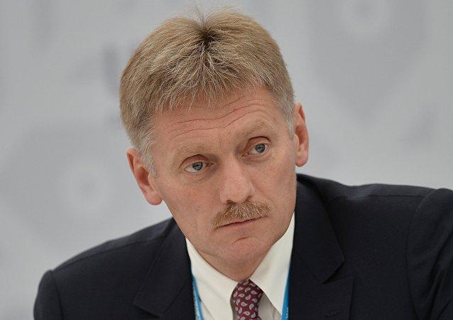 俄总统新闻秘书:不知普京计划和国际奥委会主席进行磋商