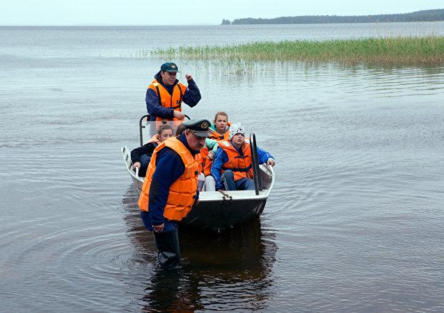 卡累利阿搜救行动结束 找到14具遇难者遗体