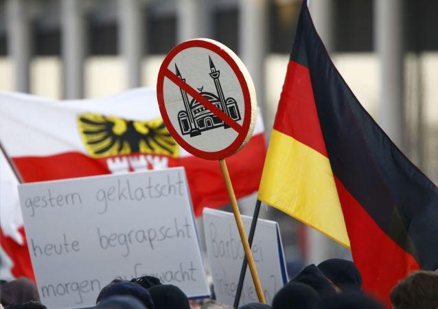 德国主要城市举行一系列反种族主义集会