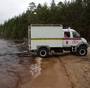俄聯邦緊急情況部的特種車(資料圖片)