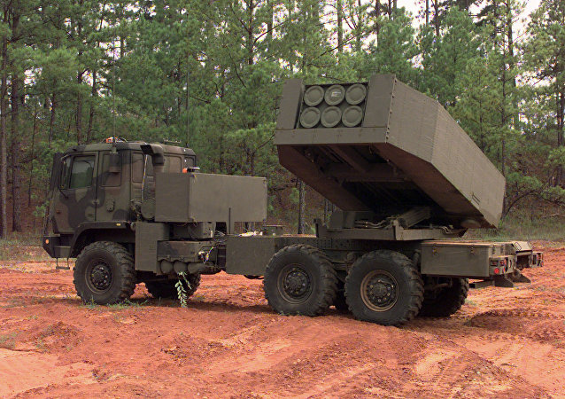 美国M142 HIMARS(High Mobility Artillery Rocket System)自行火箭炮