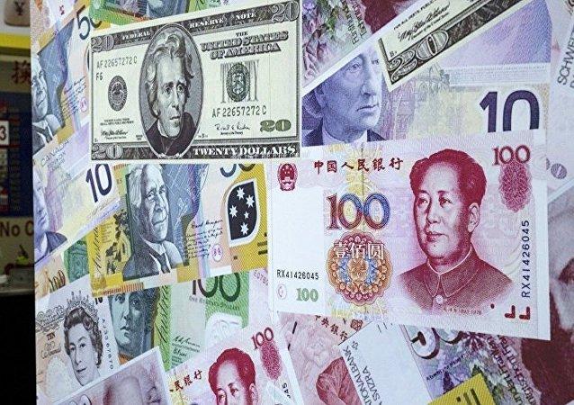 中国8月份外汇储备规模为31097亿美元 较7月下降0.26%