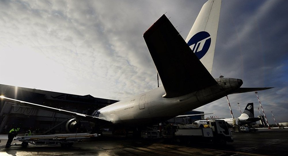 俄优梯航空公司飞机