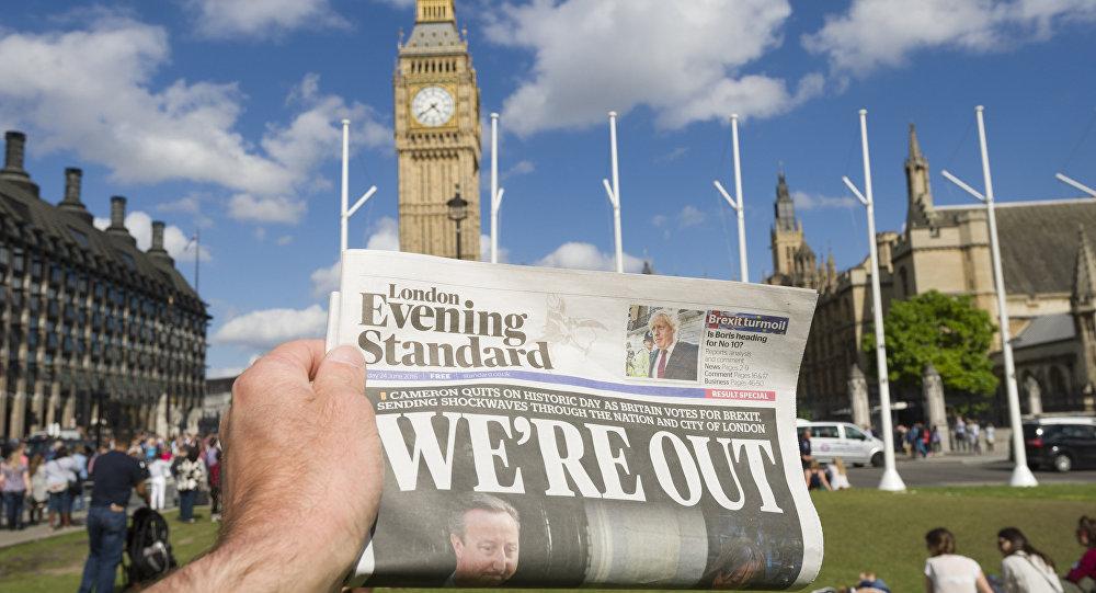 俄副财长:英国脱欧将是成都G20财长会议的主要议题