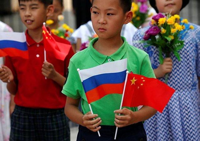 俄萨哈林州大中学生举行汉语大赛