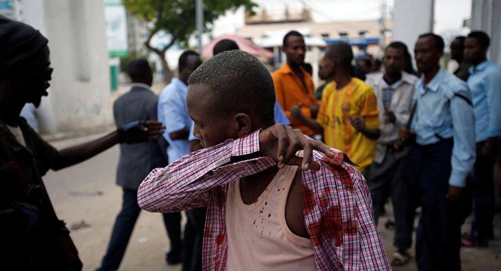 索马里旅馆遭攻击(资料图片)