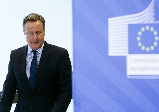 卡梅伦希望英国退欧后双方能在贸易和安全领域保持紧密关系