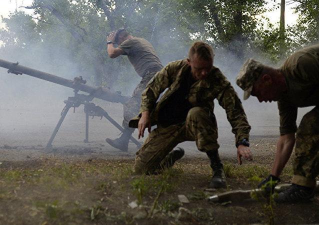 顿涅茨克人民共和国:乌军队试图在杰巴利采沃附近取得突破