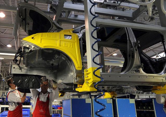 韩国汽车公司的国外产量首次超过国内产量
