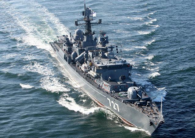五角大楼指责俄军舰发送虚假信号