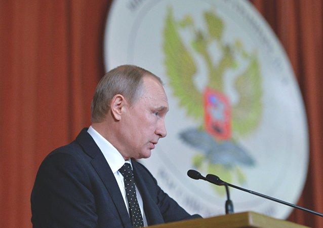 普京:欧亚经济联盟与中国的谈判是迈向大欧亚合作伙伴关系的第一步