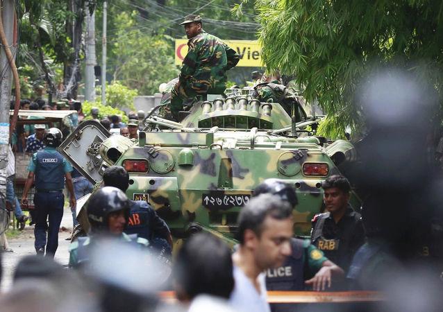 恐怖分子袭击达卡餐厅事件造成20人死亡