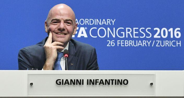 国际足联主席詹尼·因凡蒂诺