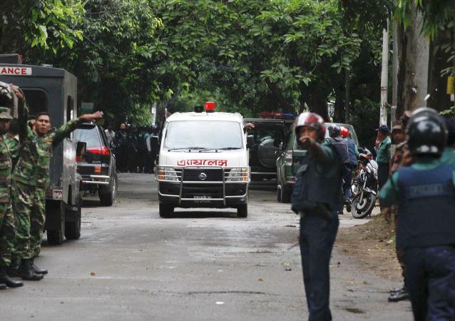 孟加拉国警方消灭了前不久袭击咖啡馆的组织者