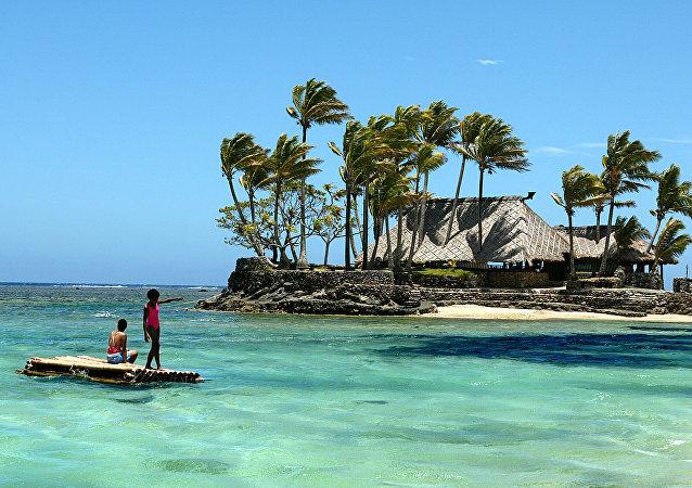 新华社:一对俄夫妇在斐济被杀