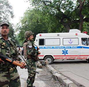 印度强力人员在克什米尔与武装分子冲突致4人死亡
