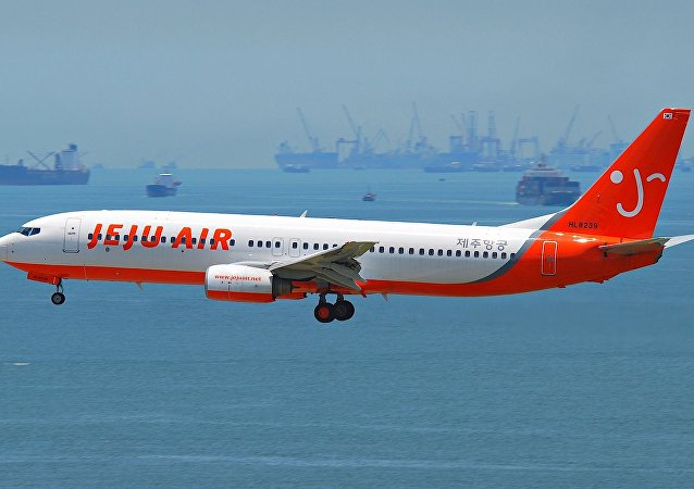 A Jeju Air Boeing 737-800
