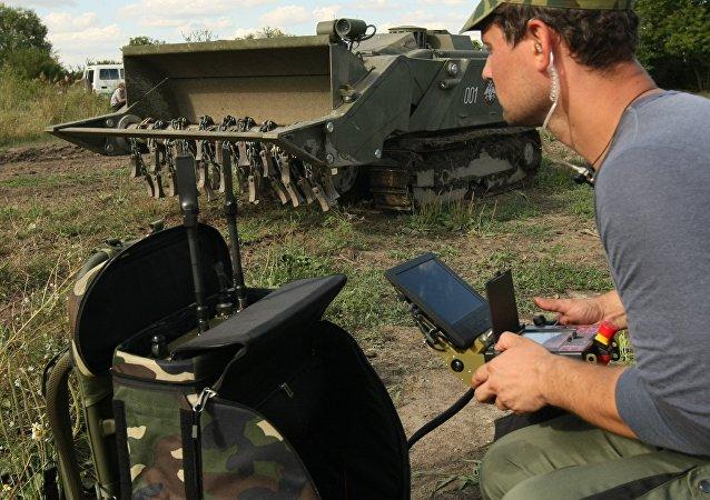 俄罗斯工兵机器人技术
