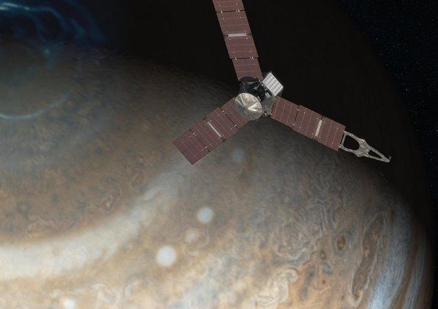 """""""朱诺""""号探测器成功飞抵木星轨道"""