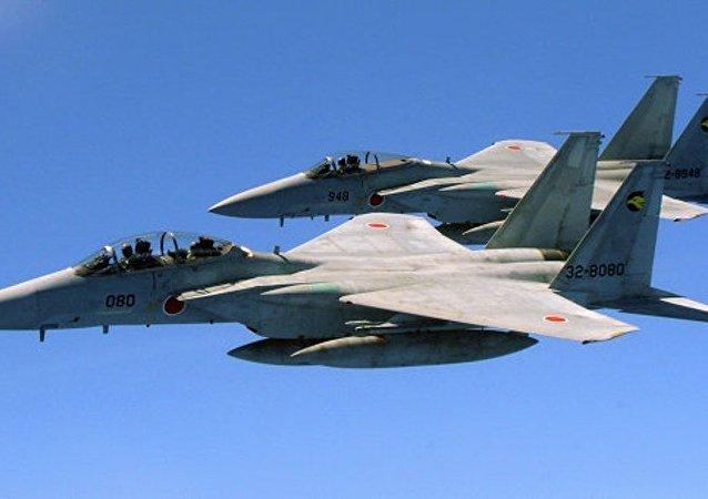 媒体:日本战机2016年起飞拦截他国飞机达到创纪录的1000次