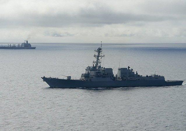 美国导弹驱逐舰