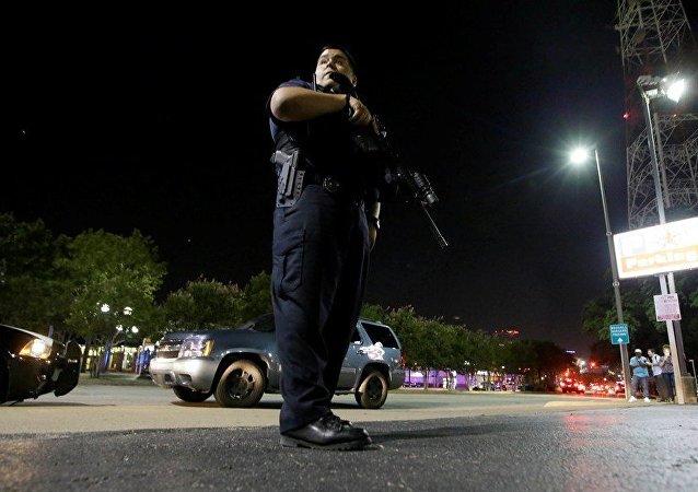 美国德克萨斯州警方