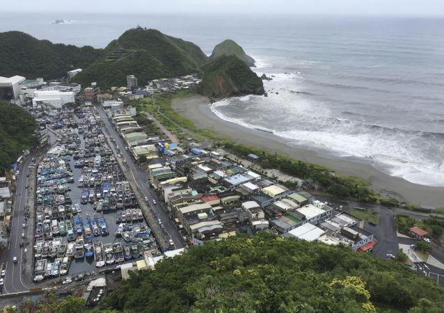 台湾将遭遇台风,与邻近岛屿间海上交通将受破坏