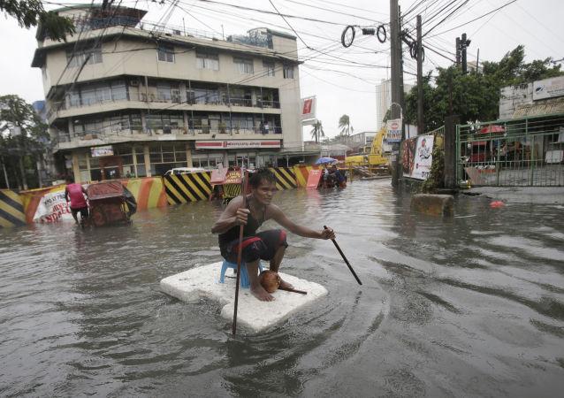 菲律宾风暴死亡人数增至240人