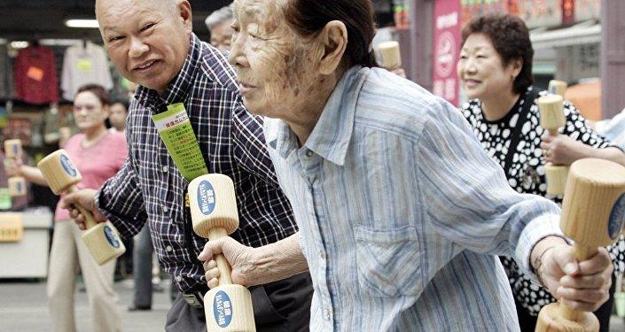 日本人打破了自己的長壽記錄
