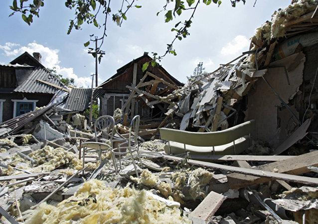 丘尔金:俄罗斯呼吁国际社会对基辅施压,防止顿巴斯军事行动全面扩大