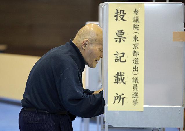 出口民调:联合执政党赢得日本议院上院选举