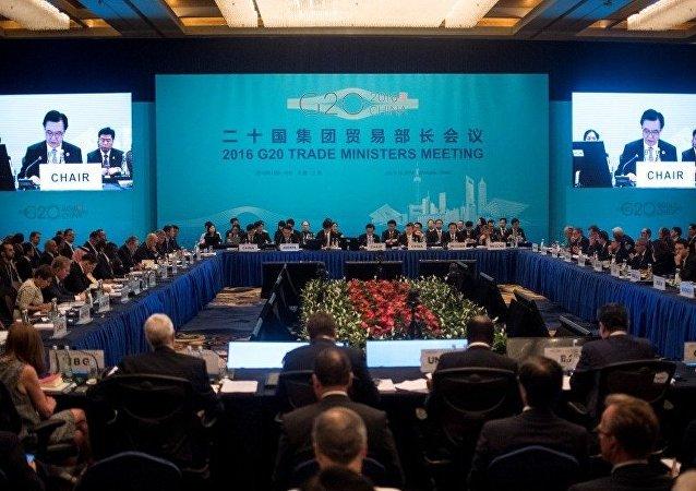 China's Commerce Minister Gao Hucheng