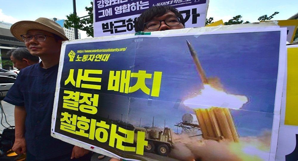 """韩国不满中国对""""萨德""""事件的反应向WTO提起诉讼"""
