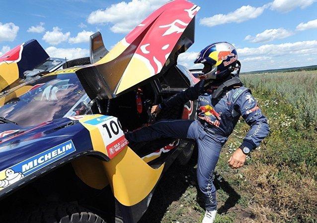 法国车手在丝绸之路拉力赛第四阶段越野车赛中获胜