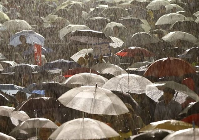日本西南部超过9万居民收到疏散建议