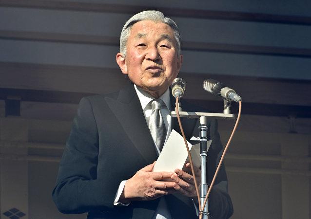 日本天皇发表新年贺词祈愿世界和平