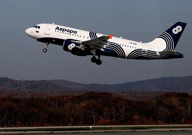 阿芙乐尔航空公司的 А319