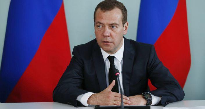 俄罗斯总理梅德韦杰