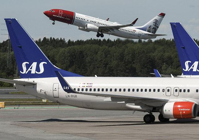 上海飞往哥本哈根的客机因压力传感器报警在新西伯利亚迫降