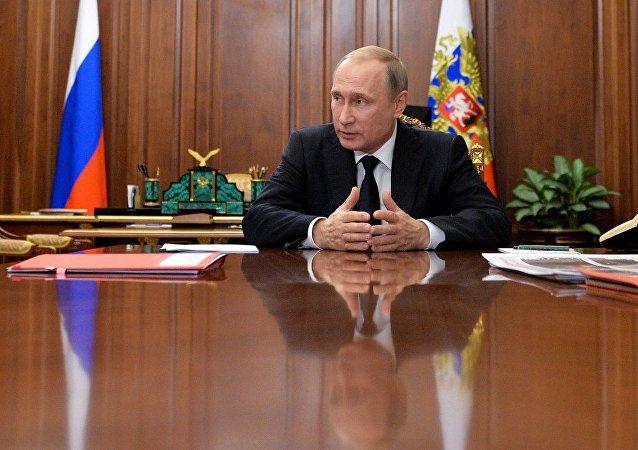 普京:俄反对反宪法行为
